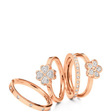 Winter Wonders Stacking Rings