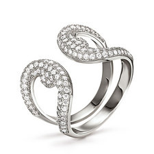 Fashionably  Openwork Ring