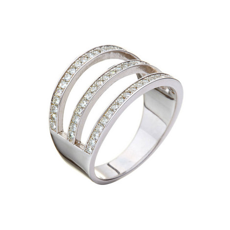 Fashionably Three Row Ring, ${color}