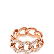 Fashionably Chain Link Ring