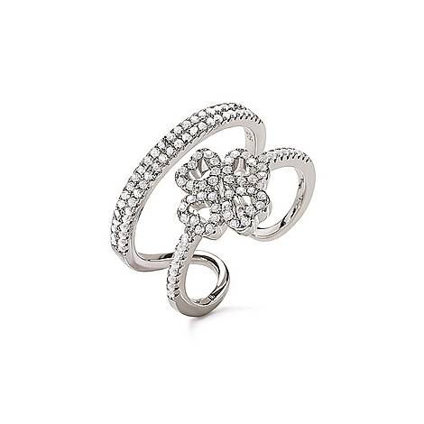 Fashionably Double Heart Ring, ${color}