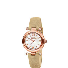 Aegean Breeze Leather Watch