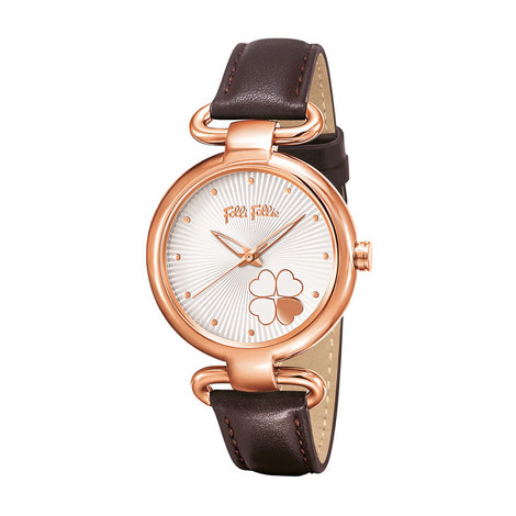 Heart4Heart Classy Leather Watch, ${color}