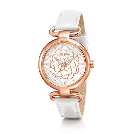 Santorini Flower Classy Watch, ${color}