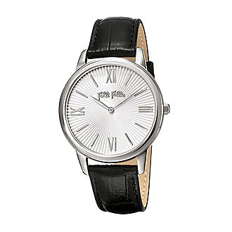 Match Point Leather Watch