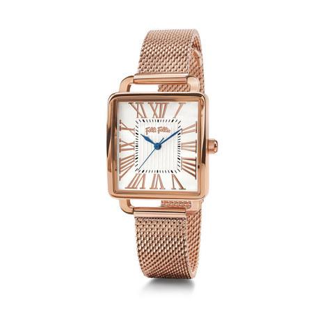 Retro Square Bracelet Watch, ${color}
