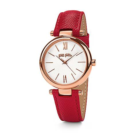 Cyclos Saffiano Leather Watch, ${color}