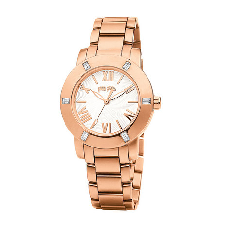 Donatella Crystal Bracelet Watch, ${color}