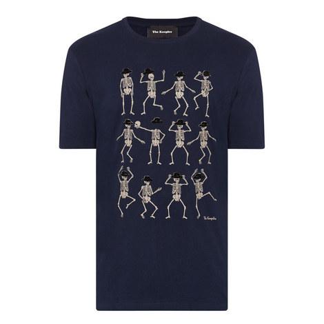 Dancing Skeleton T-Shirt, ${color}