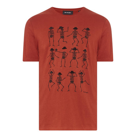 Dancing Skeleton T-Shirt, ${color}