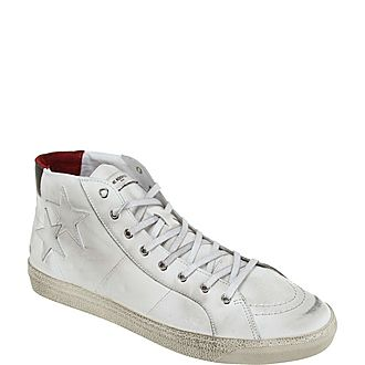 Washed High Tops