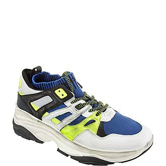 Chunky Fluoroscent Sneakers
