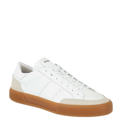 Low Top Leather Trainers, ${color}