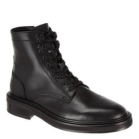 Leather Biker Boots, ${color}