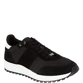 Multi Leather Trainers