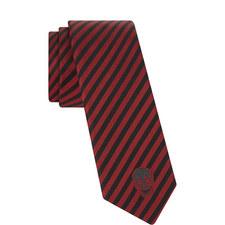 Jacquard Stripe Silk Tie
