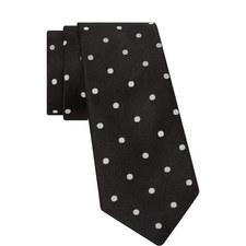 Polkadot Silk Tie