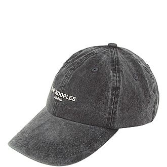 Washed Embroidered Logo Cap