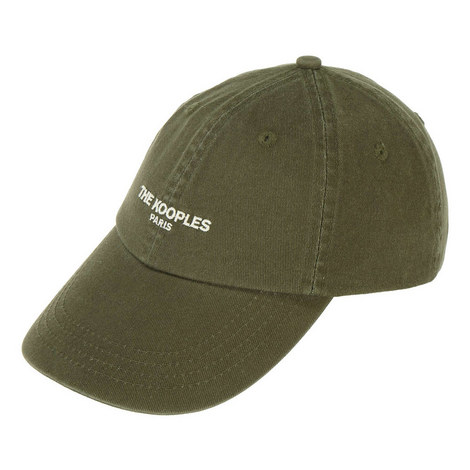 Washed Embroidered Logo Cap, ${color}