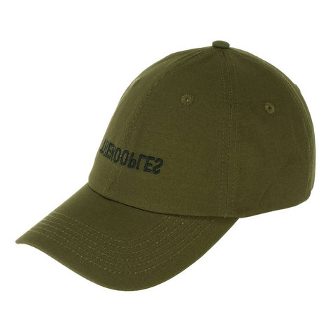 Embroidered Reverse Logo Cap, ${color}