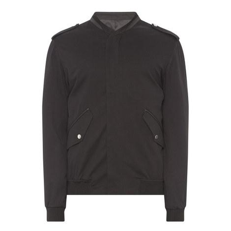 Officer Collar Bomber Jacket, ${color}