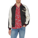 Satin Campus Bomber Jacket , ${color}