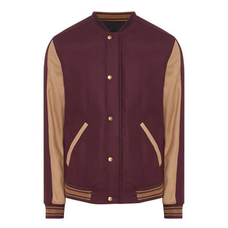 Zip-Up Varsity Jacket, ${color}