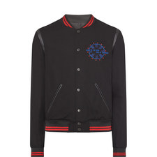 Embroidered Teddy Jacket
