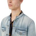Mandarin Collar Jean Jacket, ${color}