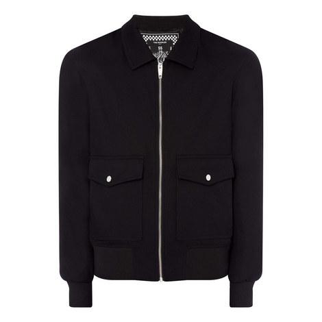 Collar Cotton Jacket, ${color}