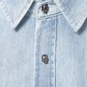 Skull Button Denim Shirt, ${color}