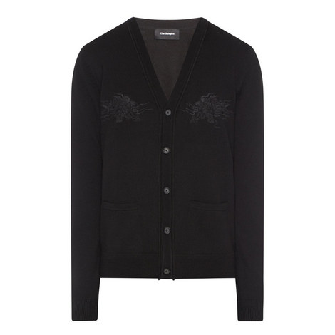 Embroidered Cardigan, ${color}