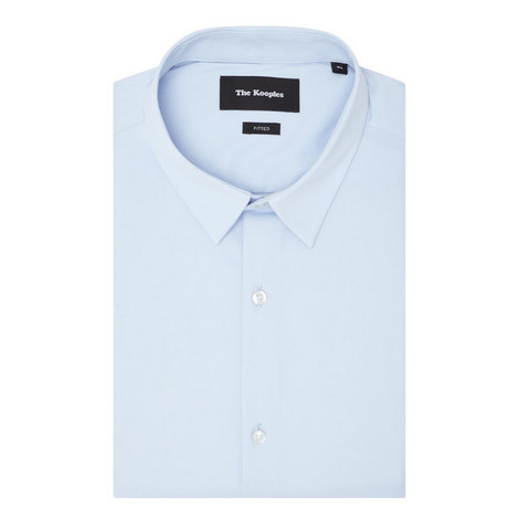 Stretch-Cotton Poplin Shirt, ${color}
