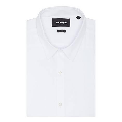 Stretch-Cotton Poplin Shirt, ${color}