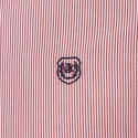 Officer Collar Striped Shirt, ${color}