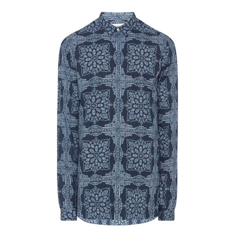Rocking Paisley Fitted Shirt, ${color}