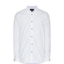 Faille Button-Down Shirt