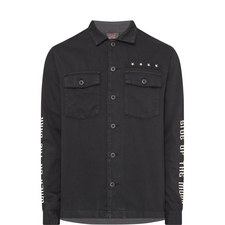 Embroidered Army Shirt