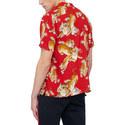 Tiger Print Short Sleeve Shirt, ${color}