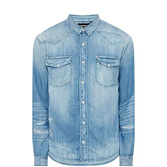 88776145600 Sale THE KOOPLES Destroyed Shirt Now €99.00. Was €198.00