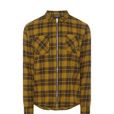 Check Zip-Fastened Shirt