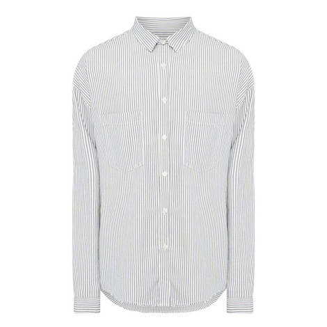 Relaxed Oxford Shirt, ${color}