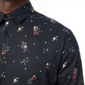Floral Print Shirt, ${color}