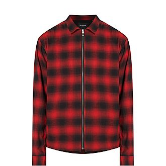 Checked Shirt in Japanese Fabric