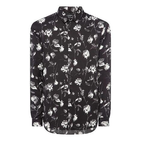 Flower Print Shirt, ${color}
