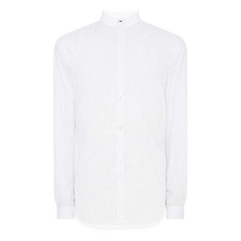 Mao Collar Shirt, ${color}