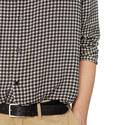 Checkerboard Print Shirt, ${color}