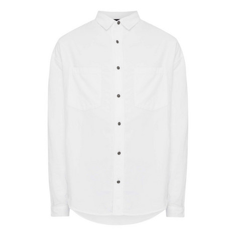 Classic Relaxed Fit Shirt, ${color}