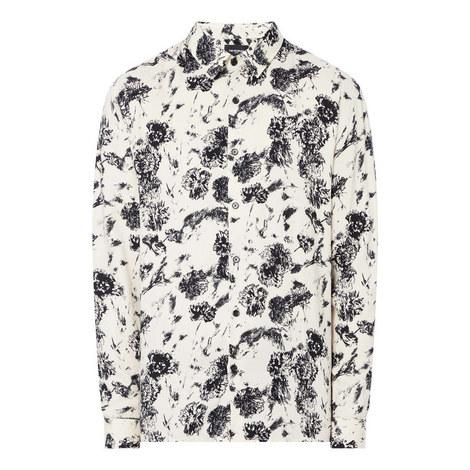 Daisy Print Shirt, ${color}
