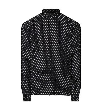 Square And Dot Shirt